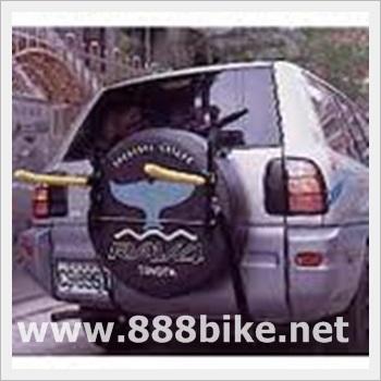 """YT"" แร๊กแขวนรถท้ายออฟโรดมียางอะหลั่ย แขวนได้ 2 คัน, YT-8068."