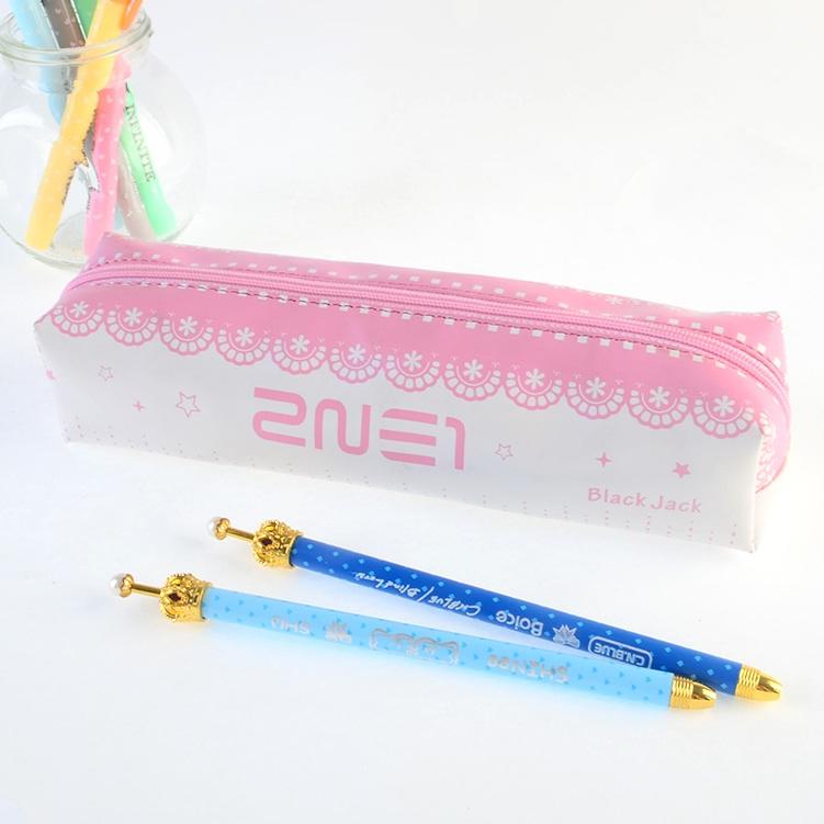 กระเป๋าดินสอ 2NE1 สีชมพู