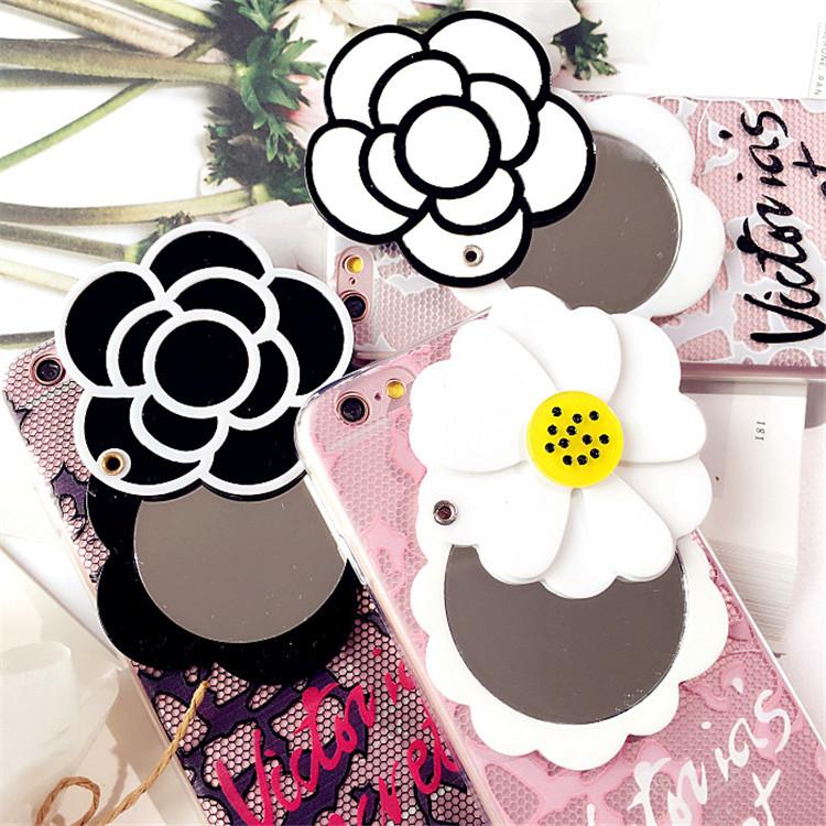 เคส tpu ดอกไม้ซ่อนกระจก ซัมซุง เจ 7 (version 2)