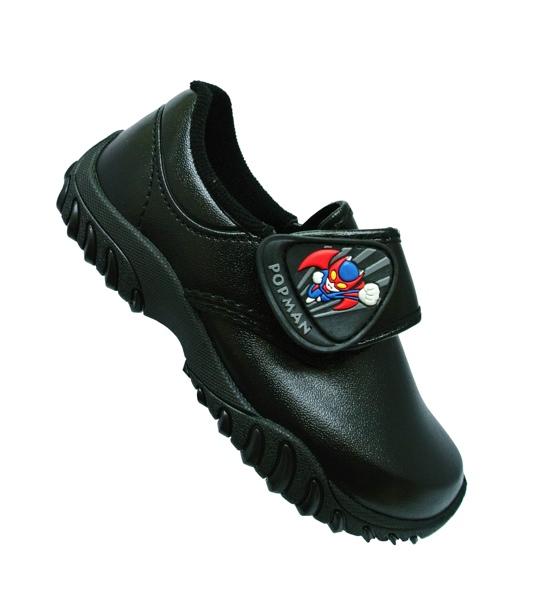 รองเท้านักเรียนชายอนุบาล POPMan
