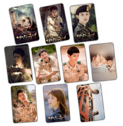 รูปการ์ด Descendants of the Sun Song Joong Ki