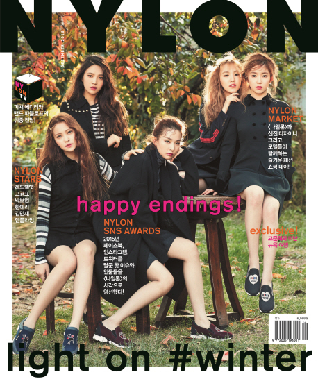 NYLON 2015.12 (Red Velvet, N.flying)