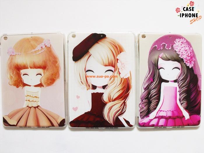 เคสยางลายการ์ตูนสาวเกาหลี Ipad Air/Ipad 5