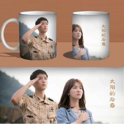 แก้วน้ำ Descendants of the Sun Song Joong Ki