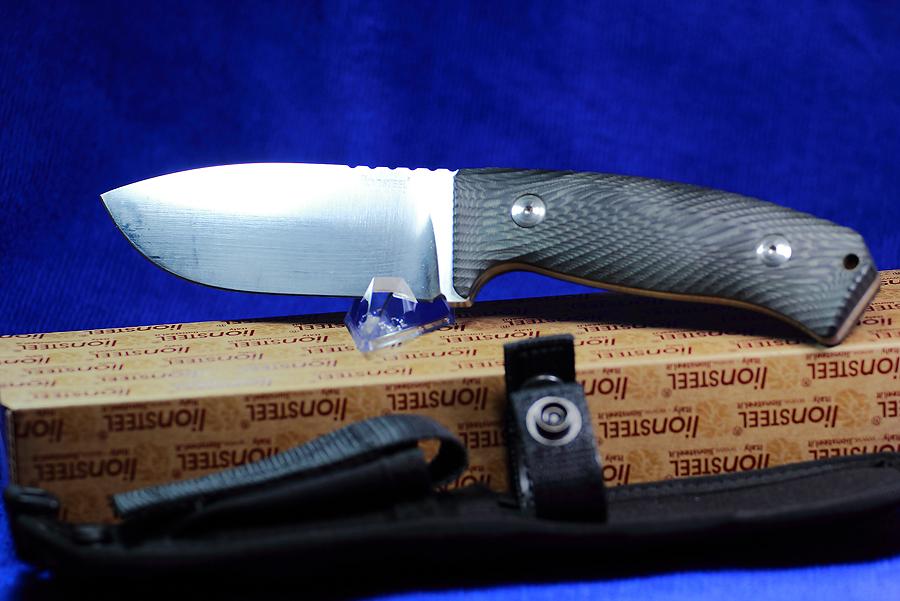 LionSteel Combat Knife Fixed 4-1/2