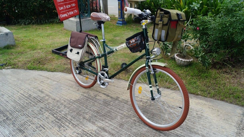 จักรยานมินิ WCI spring classic 21sp เฟรมอลูมิเนียม ล้อ 24 นิ้ว