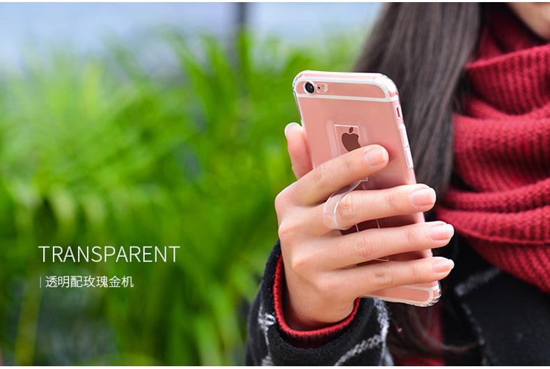 เคส tpu ใส วงแหวนตั้งได้ ไอโฟน 6/6s plus 5.5 นิ้ว