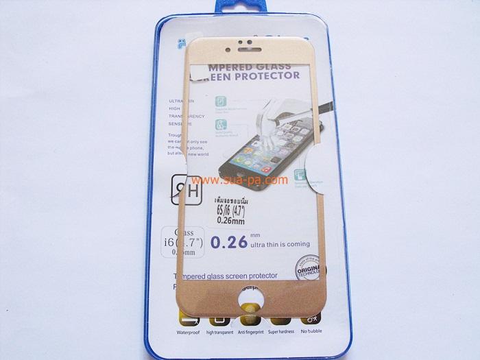 ฟิล์มกระจก Iphone 6 - 4.7 หน้า 1 แผ่น เต็มจอขอบนิ่ม