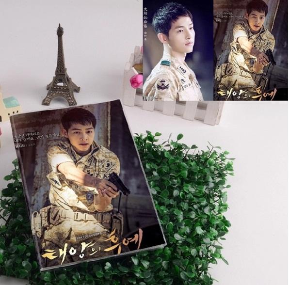 สมุด Descendants of the Sun Song Joong Ki