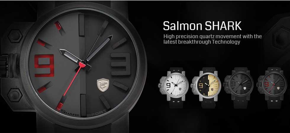 นาฬิกาข้อมือผู้ชาย shark รุ่นใหม่ 2