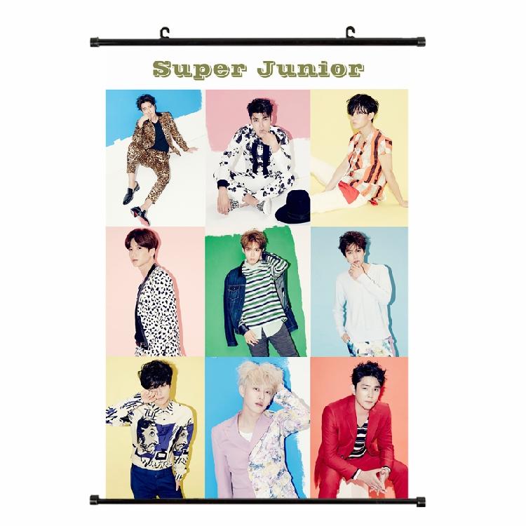 โปสเตอร์แขวน SJ SUPER JUNIOR Devil 2015