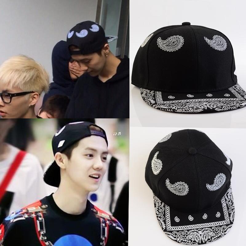 หมวกแฟชั่น EXO LUHAN สีดำ