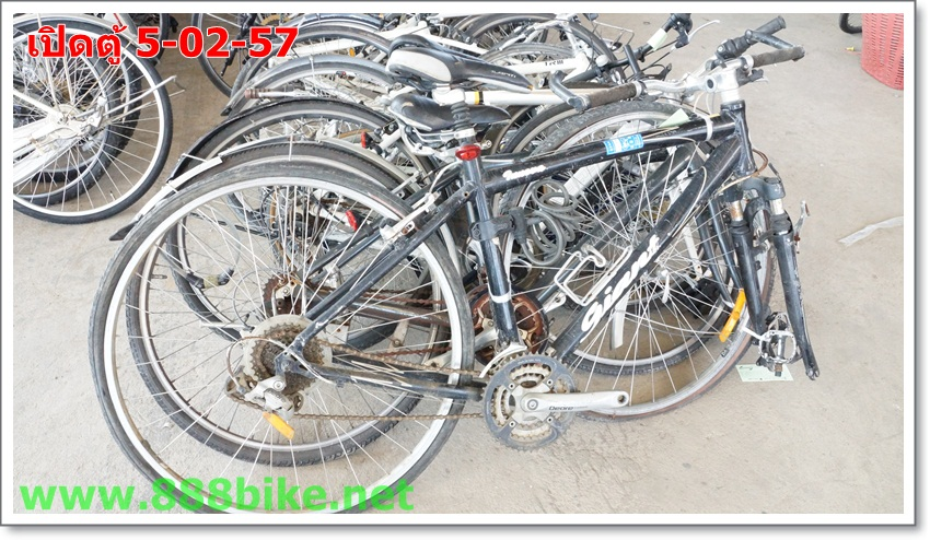 เปิดตู้จักรยานมือสอง 5-02-57