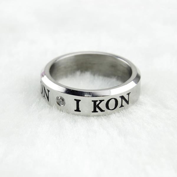 แหวนเงิน iKON YG