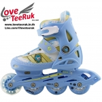 รองเท้าสเก็ต rollerblade รุ่น MKB-Kids สีฟ้า พร้อมเซทสุดคุ้ม Size S 28-31