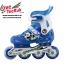 รองเท้าสเก็ต rollerblade รุ่น MFB สีฟ้า-ขาว Size S **พร้อมเซทป้องกันสุดคุ้ม thumbnail 1