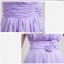 พร้อมส่ง ชุดราตรียาว ชุดเพื่อนเจ้าสาว สีม่วงอ่อน Lavender Lv-002D thumbnail 4
