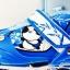 รองเท้าสเก็ต rollerblade รุ่น MAB สีฟ้า-ขาว Size S **พร้อมเซทป้องกันสุดคุ้ม thumbnail 4