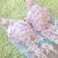 พร้อมเช่า ชุดแฟนซีสั้น แบบแขนกุด เนื้อผ้าเป็นตาข่ายแบบซีทรู แต่งดอกและลูกปัด สีม่วง (เชือกผูกหลัง) thumbnail 15