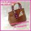 กระเป๋าแบรนด์แอร์เมส Hermes 10 นิ้ว **เกรดAAA** เลือกสีด้านในค่ะ thumbnail 9