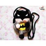 กระเป๋าใส่มือถือลายการ์ตูนใส่มือถือได้ทุกรุ่น-Bat man