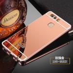เคส Huawei P9 Plus รุ่น Aluminium Hybrid Mirror Back (เคสฝาหลังเงา) สีชมพู