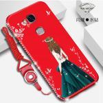 เคส Huawei GR5 2016 รุ่น Princess สีแดง#2