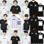 เสื้อยืด เสื้อแฟชั่นเกาหลี EXO SPAO งานแฟนเมด สีขาว : XL
