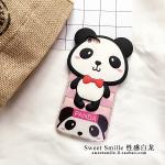 เคสการ์ตูน 3D ขอบนิ่ม ไอโฟน 4/4s-Panda