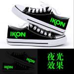 รองเท้าผ้าใบ iKON YG (เรืองแสง) : 42