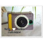 ครอบกุญแจ + การ์ด Camera Digital Model - Purple