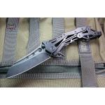 Quartermaster QTR-12TT General Lee 2 Texas Tea Black Stonewash Sheepsfoot Blade