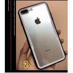 ไอโฟน 7 4.7 นิ้ว เคสหลังแข็งขอบนิ่ม(ใช้ภาพรุ่นอื่นแทน)-ขาว