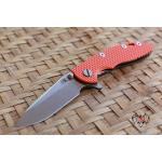 "RHK 3.0"" XM-18 Spearpoint Stonewashed Battle Bronze Orange G-10"