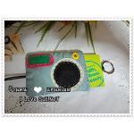 ครอบกุญแจ + การ์ด Camera Model Basic - Light Blue