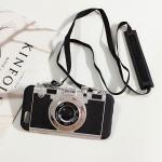 เคสเลียนแบบกล้องถ่ายรูป ไอโฟน 6/6s 4.7 นิ้ว-ดำ