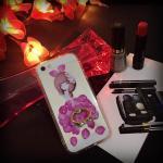เคสหลังแข็งขอบนิ่มติดแหวนเพชร ไอโฟน 7 4.7 นิ้ว-ลายเจ้าหญิง-1