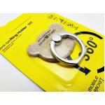 แหวนติดมือถือกากเพชร-หัวหมีทอง