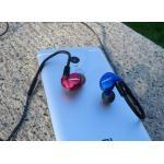 หูฟัง Kinera Bd005 สีแดงข้างน้ำเงินข้าง RedBlue Color