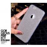เคสยางนิ่มประกายเพชรวิ้งค์ ไอโฟน 6 plus 5.5 นิ้ว-สีเงิน
