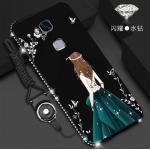 เคส Huawei GR5 2016 รุ่น Princess สีดำ#2