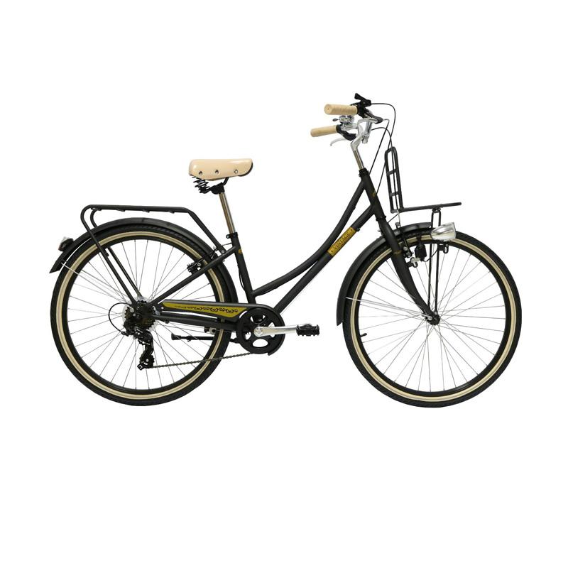 จักรยานซิตี้ไบค์ LA Neo VINTAGE STEEL FRAME 7 SPEED 26″ เฟรมเหล็ก