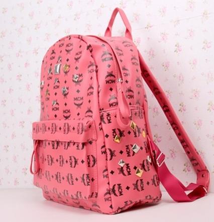 กระเป๋าแฟชั่น(สีชมพู)MCM
