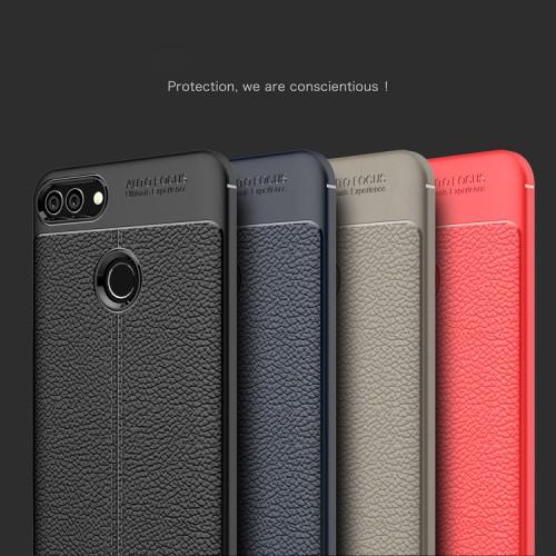 เคส Huawei Y9 2018 รุ่น Litchi Texture