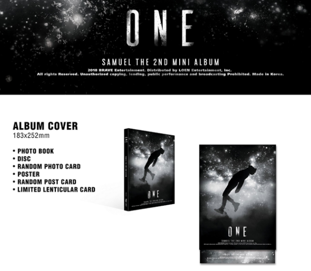 อัลบั้ม #Samuel - Mini Album Vol.2 [ONE]