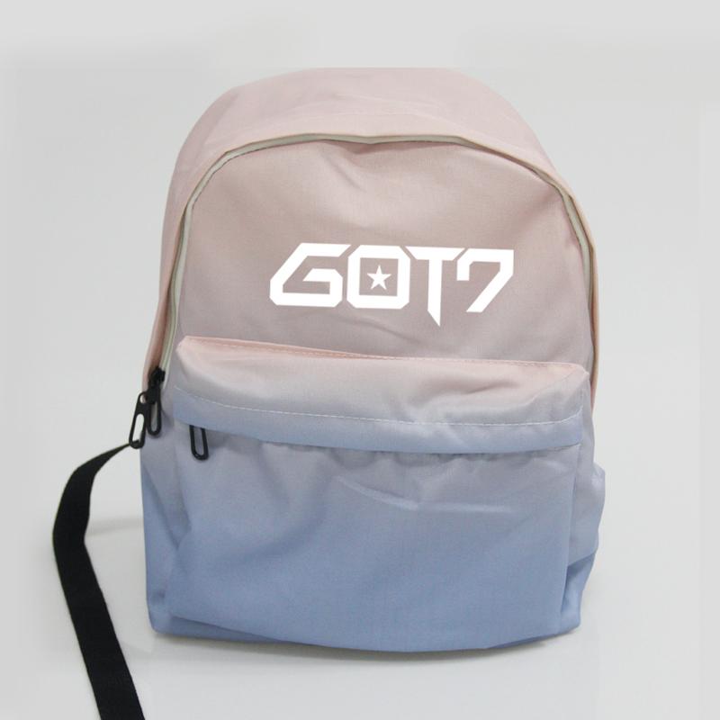 กระเป๋าเป้สีพาสเทล GOT7
