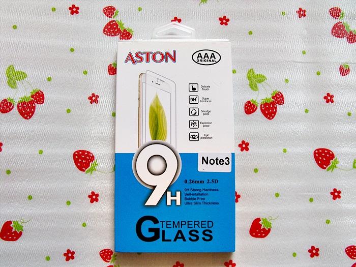 ฟิล์มกระจก Samsung Note 3 (ASTON)