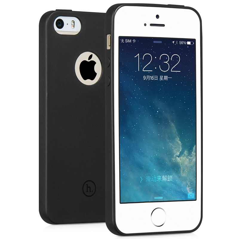 เคส iPhone 5/5s/SE HOCO Juice Series ดำด้าน บางเหมือนไม่ใส่ 120 บาท จากปกติ 250 บาท