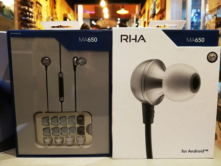 หูฟัง Rha Ma650 Mic หูฟังอินเอียร์มีไมค์ พร้อมปุ่มเพิ่มลดเสียงสำหรับ Android คุณภาพเสียงแบบ Hi-Res แบรนจากอังกฤษ หูฟังทำจากโลหะ รูปทรงหรูหรา