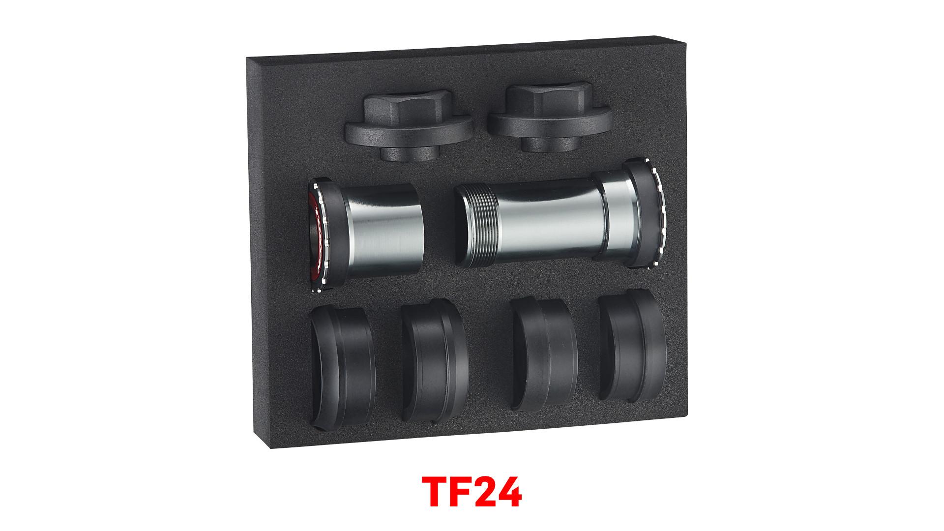 ชุดกระโหลก Token ,Thread Fit Zenith ,TF24 TBT (Ceramic) สำหรับเฟรม BB86/BB30/PF30